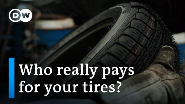 Embedded thumbnail for Why does DW say that rubber tires are a dirty business and promote retreading?
